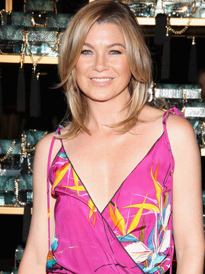 Ellen Pompeo Stuns at Marc Jacobs Divine Decadence Event