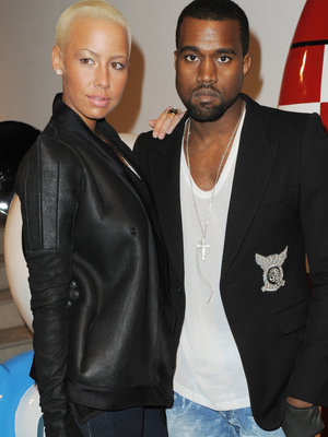 "Amber Rose Defends Kanye West in Swift Feud -- Then Tells Him to ""Stay the F--k Out of…"