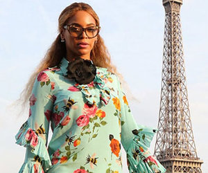 Twinning! Beyonce and Blue Ivy Rock Matching Dresses In Paris
