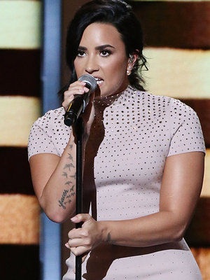Demi Lovato Rocks the Stage at 2016 Democratic National Convention