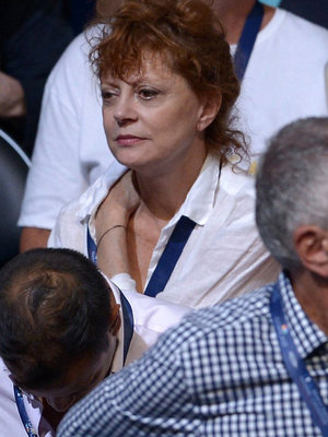 "Susan Sarandon's ""Not Having"" The Democratic National Convention -- Her Reaction Goes…"