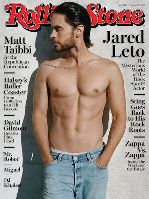 "Jared Leto Shows Off Shredded Stomach For Rolling Stone, Talks Past Drug Use: ""I Did…"