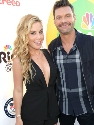 Seacrest, Lipinski & More Stars Attend NBC Olympic Bash