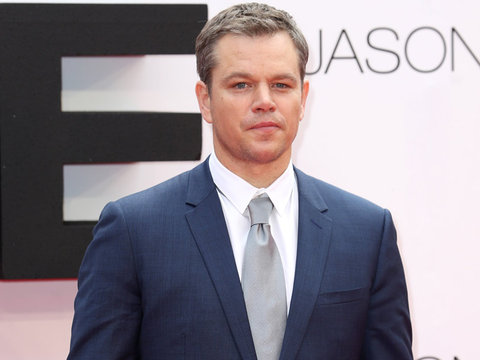"Oh No! Matt Damon Says He's Taking a ""Year Off"" From Acting"