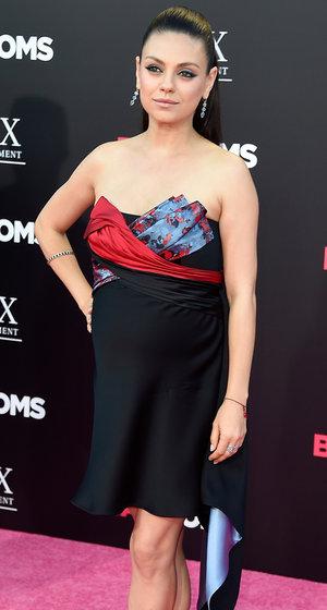 Pregnant Mila Kunis Says She And Ashton Kutcher Are Already Considering Having Baby No. 3!