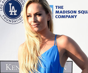 Whoops! Lindsey Vonn Has Red Carpet Wardrobe Malfunction