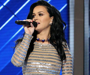 Katy Perry's Sparkly DNC Look -- Fab or Drab?
