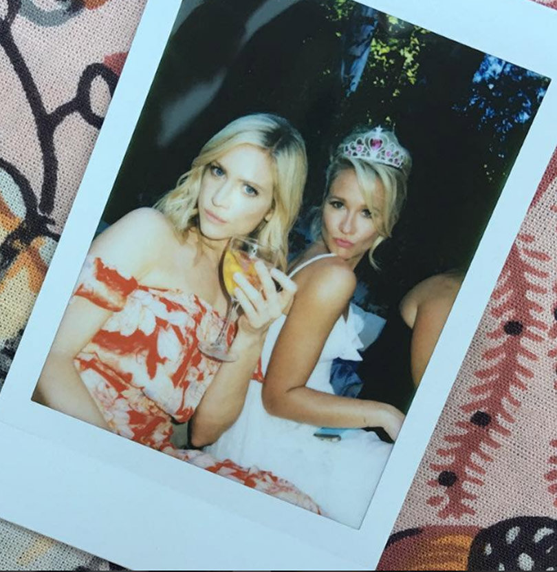 Anna Camp and Skylar Astin throw cutest bachelor/bachelorette parties