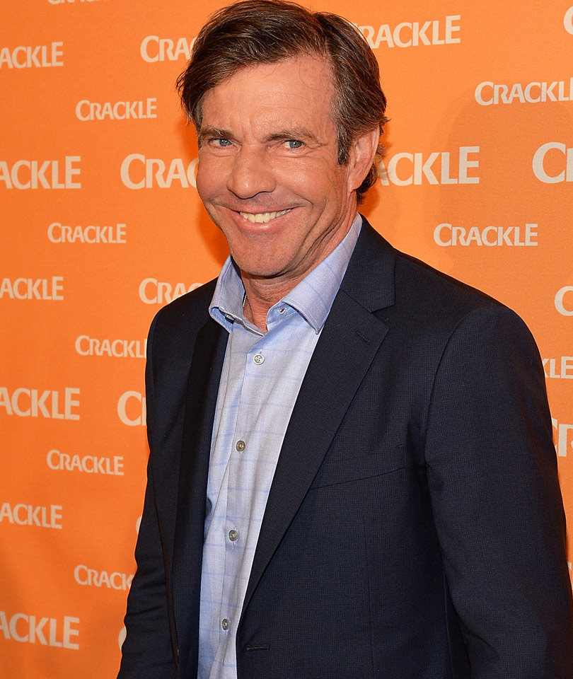 Dennis Quaid Linked to Gorgeous Model Half His Age