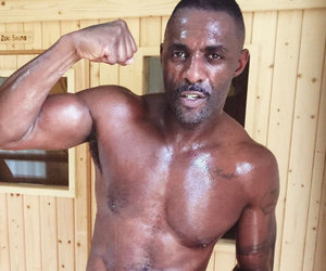 Idris Elba Shows Off Hot Shirtless Bod in New Sweaty Post-Gym Snap!