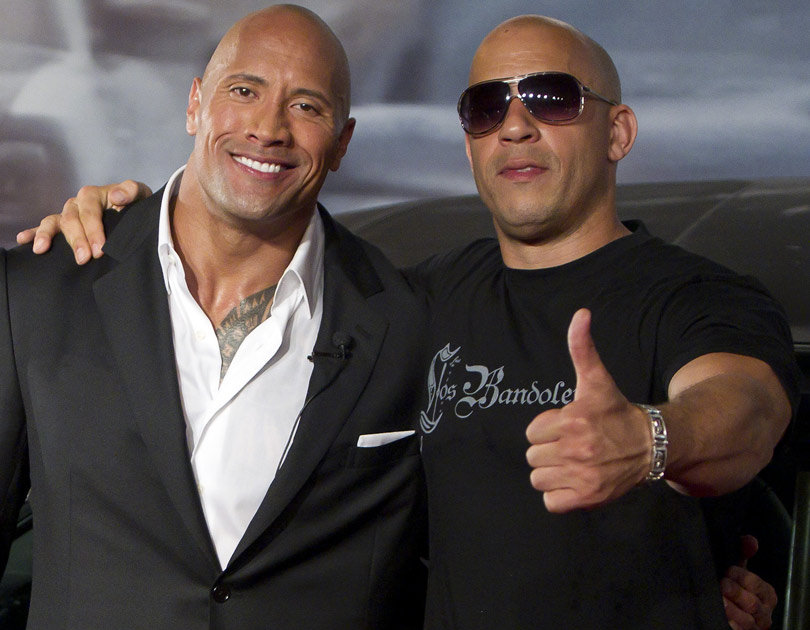 Vin Diesel Compliments The Rock Amid