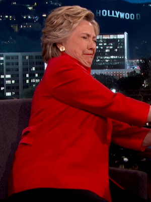 "Clinton Proves She's ""Strong Enough"" to Be President"