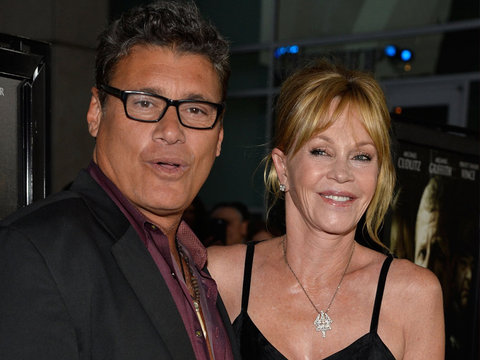 Melanie Griffith Posts Rare Pic of Son with Ex Steven Bauer