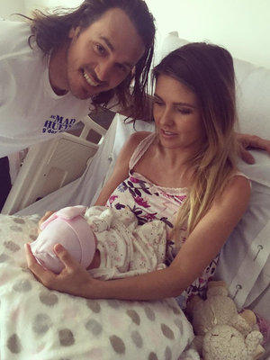 Audrina Patridge Shares First Photos of Daughter Kirra