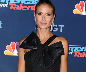 Last Night's Looks: Heidi Klum Wraps Her Jumpsuit with a Big Bow