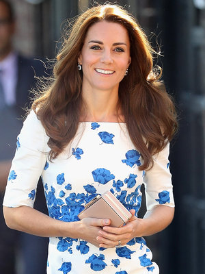Kate Middleton Stuns in Floral -- See More of Her Royal Style!