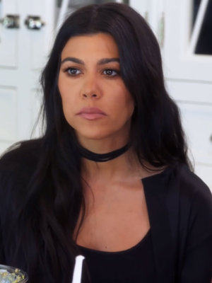 "Kourtney Kardashian Talks Reuniting with Scott Disick: ""I'm So Not Even There Yet"""