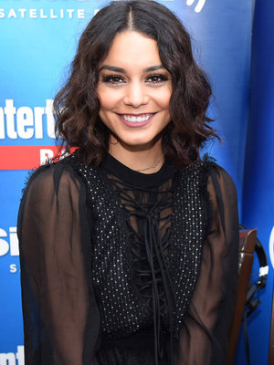 Hudgens Debuts Long Red Extensions -- Like Her New Look?