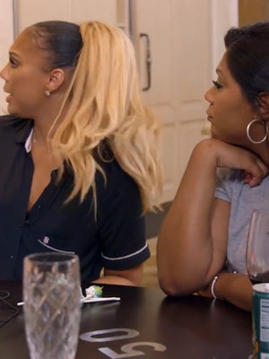 "Tamar & Toni Braxton Get Into It on ""Braxton Family Values"""