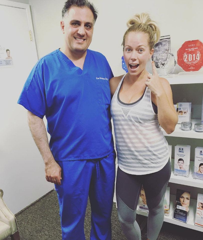 Kendra Wilkinson, 31, Gets Her First Botox Treatment