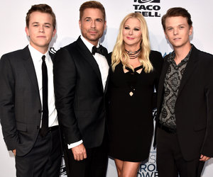Rob Lowe's Dapper Sons Attend His Comedy Central Roast