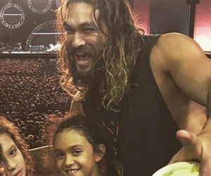 Jason Momoa & Lisa Bonet's Kids Are Total Rockstars at Chili Peppers Concert