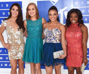 The Final Five -- Minus Gabby Douglas -- Go Glam For VMAs!
