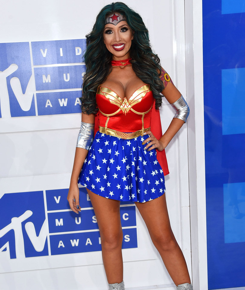 Why Farrah Dressed as Wonder Woman for the VMAs