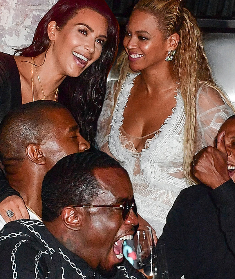 VMA After-Parties: Kim K. & Beyonce Celebrate Together!