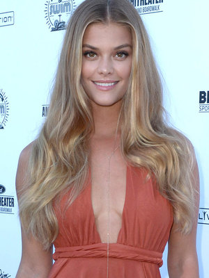 Nina Agdal Stuns on the Beach at SI Swimsuit Summer of Swim Festival
