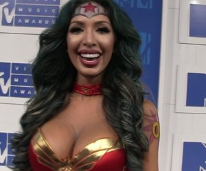 Farrah Abraham Debuts Bold Wonder Woman Costume at VMAs