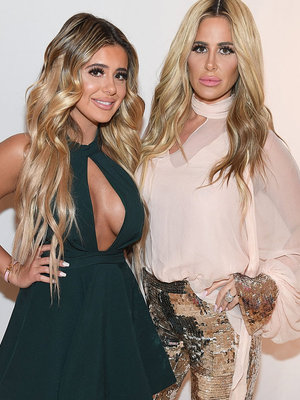 Kim Zolciak & Daughter Brielle Look Like Twins at 2016 Jeffrey Fashion Cares