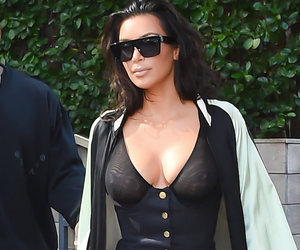 This Is, Without a Doubt, One of Kim's Craziest Outfits Ever