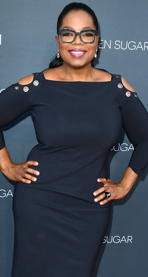 "Oprah Winfrey Flaunts Weight Loss In LBD: ""I Can Straddle Stedman w/o Breaking His Back!"""