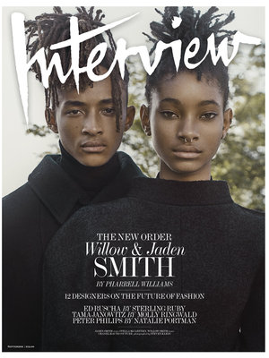 "Willow and Jaden Smith Talk Parents' Influence & Their ""Awakened"" Social Media Outlook"