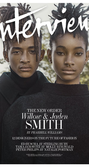 """Willow and Jaden Smith Talk Parents' Influence & Their """"Awakened"""" Social Media Outlook"""
