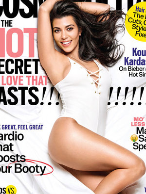 Kourtney Kardashian Talks Taylor Swift, Drama with Scott Disick In Cosmo