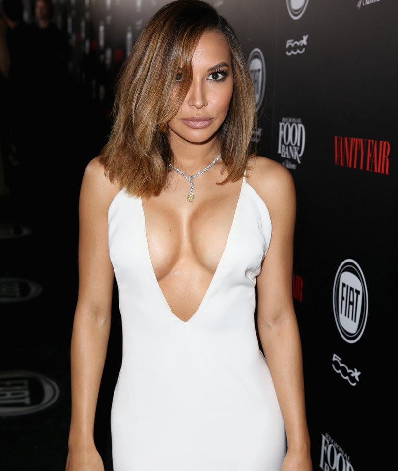 "Naya Rivera Calls Boob Job ""The Best $8K I've Ever Spent"""