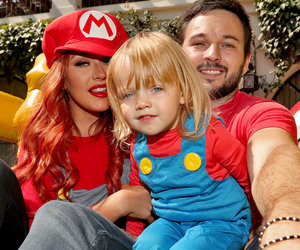 See Inside Amazing Mario-Themed B-Day Bash Christina Aguilera Threw for Summer Rain