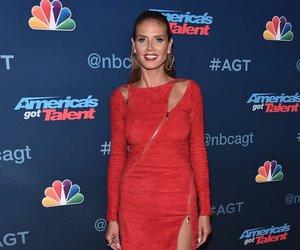 Heidi Klum's Red Zipper Dress -- Fab or Drab?
